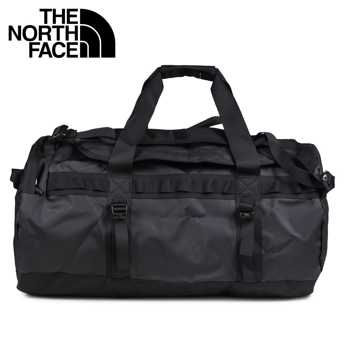 3cedfefa1 THE NORTH FACE North Face rucksack duffel bag Boston bag men 2WAY BASE CAMP  DUFFEL M black black NF0A3ETP