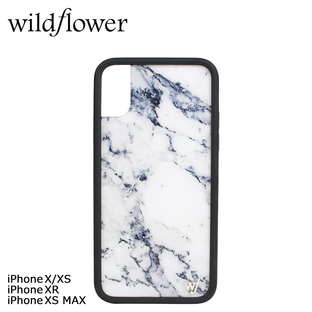 save off 9ecd9 bf789 Wild flower wildflower iPhone XR X XS MAX iPhone case smartphone eyephone  smartphone Lady's marble white white MARB