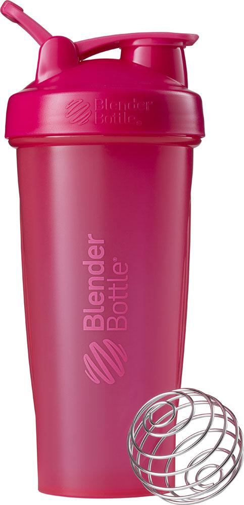 Blender Bottle ブレンダーボトル プロテイン シェイカー ボトル スポーツミキサー 800ml CLS W L ピンク BBCLE28
