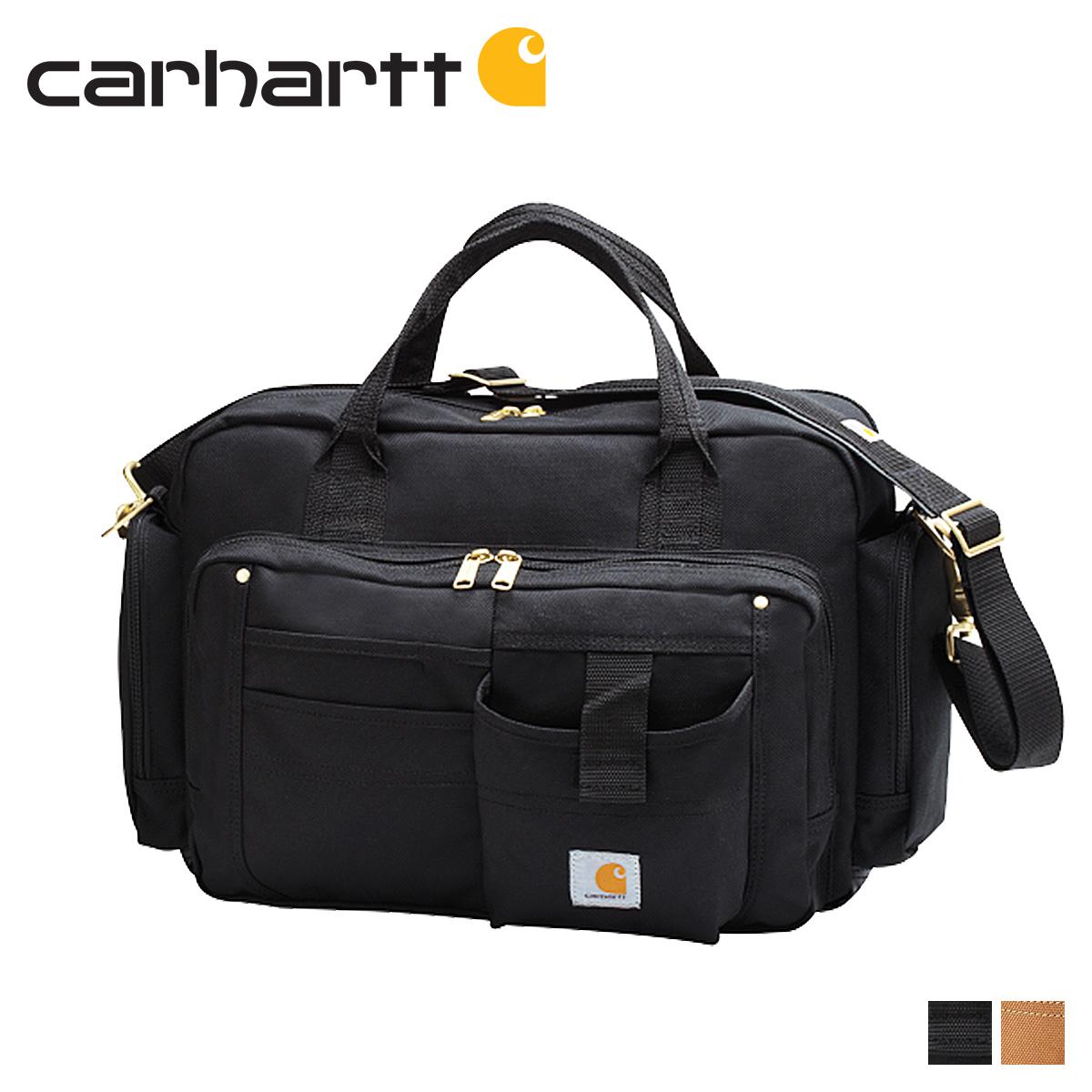 carhartt カーハート バッグ ブリーフケース メンズ レディース LEGACY DELUXE BRIEF BAG ブラック ブラウン 黒 100431