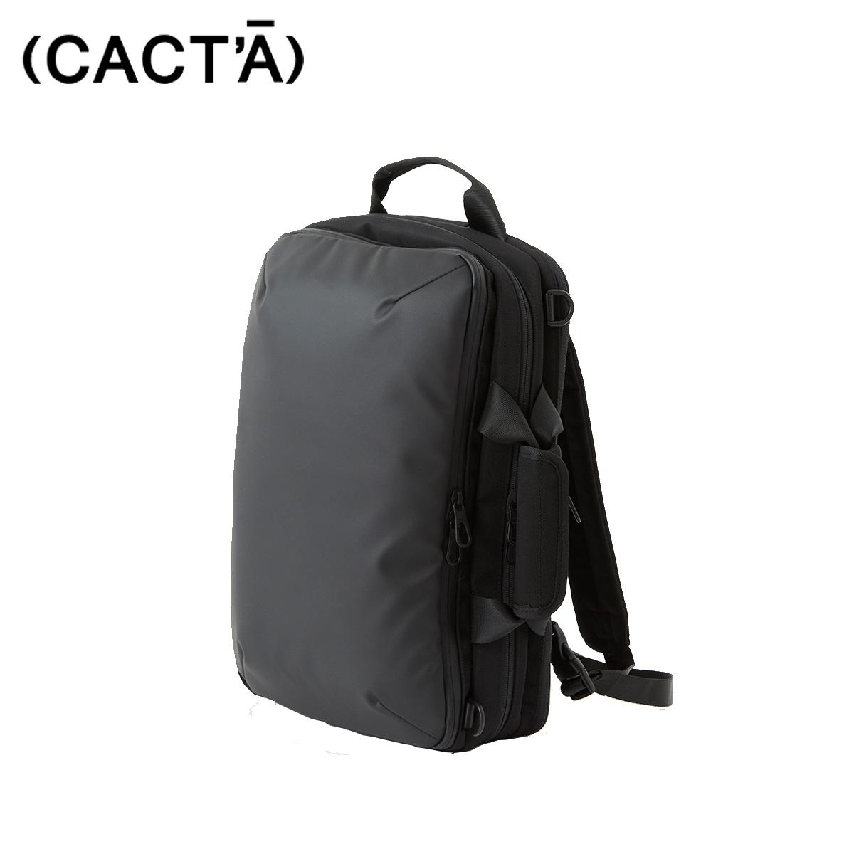 CACTA カクタ リュック バッグ バックパック メンズ COLON 3WAY BUSINESS BAG ブラック 黒 1006