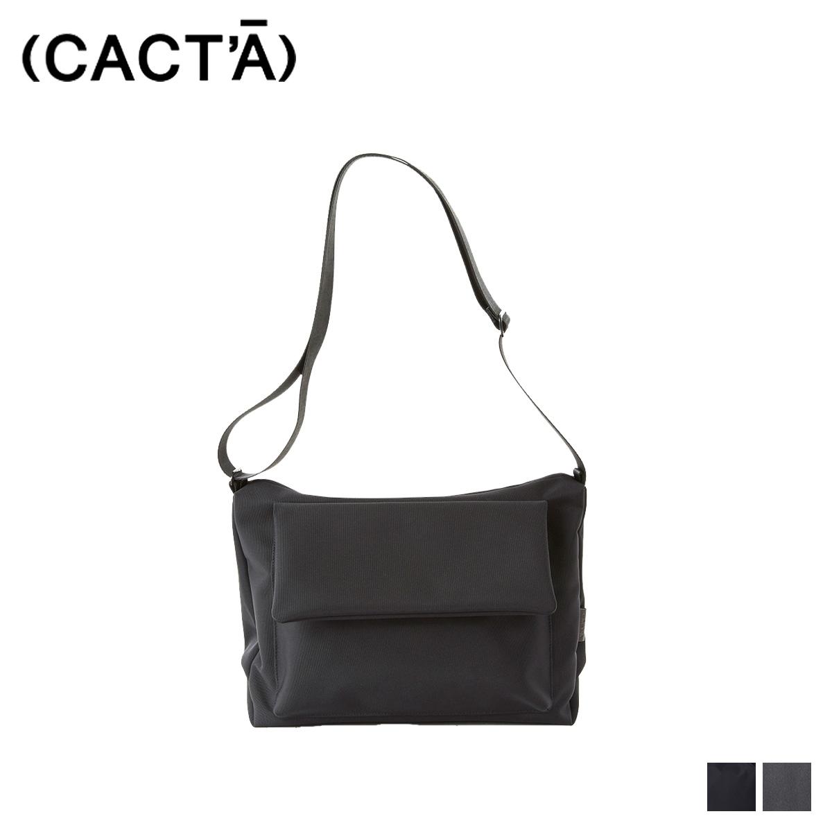送料無料 受賞店 あす楽対応 人気上昇中 カクタ CACTA ショルダーバッグ カバン 鞄 バッグ メンズ ブラック グレー 1008 HOLIDAY レディース SHOULDER 黒 FLAP COLON