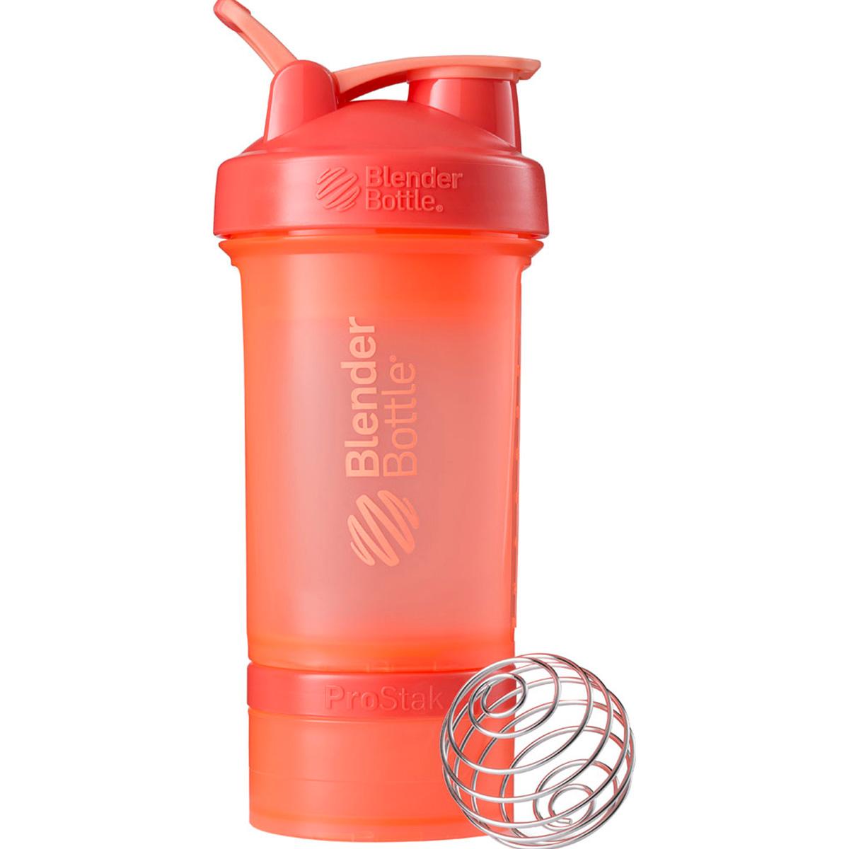 Blender Bottle ブレンダーボトル プロテイン シェイカー ボトル スポーツミキサー 650ml プロスタック PROSTAK オレンジ BBPSE22