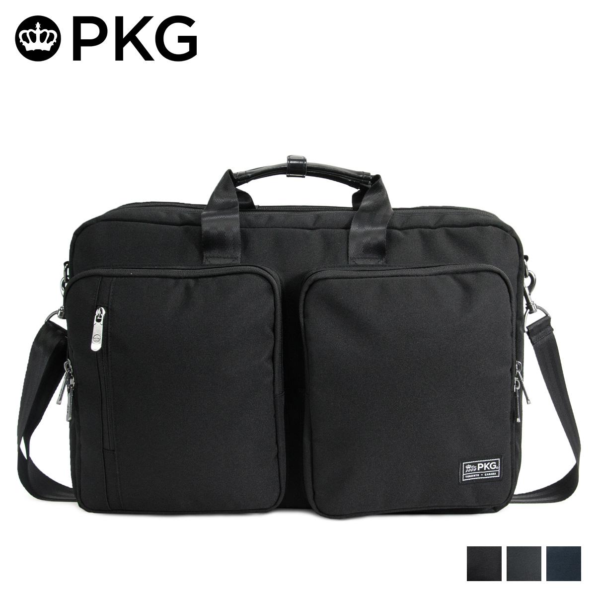 ピーケージー PKG バッグ リュック ショルダーバッグ メンズ レディース 3WAY 30L TRENTON ブラック チャコールグレー ネイビー 黒 20TR
