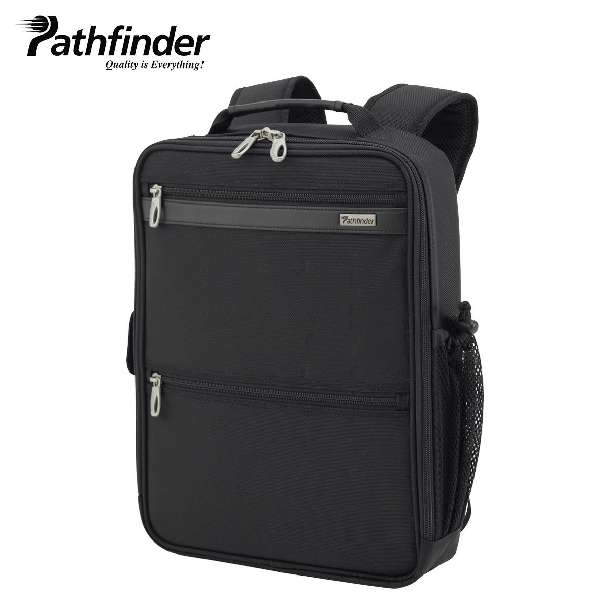 Pathfinder パスファインダー バッグ ビジネスバッグ リュック バックパック メンズ AVENGER ブラック 黒 PF1841B