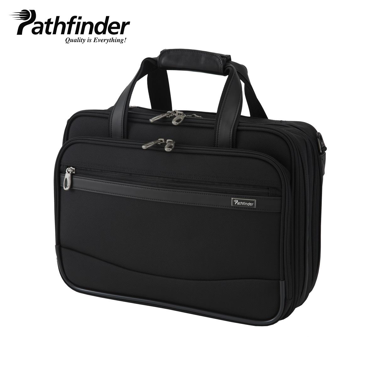 Pathfinder パスファインダー バッグ ビジネスバッグ ブリーフケース ショルダー メンズ REVOLUTION XT ブラック 黒 PF6805B