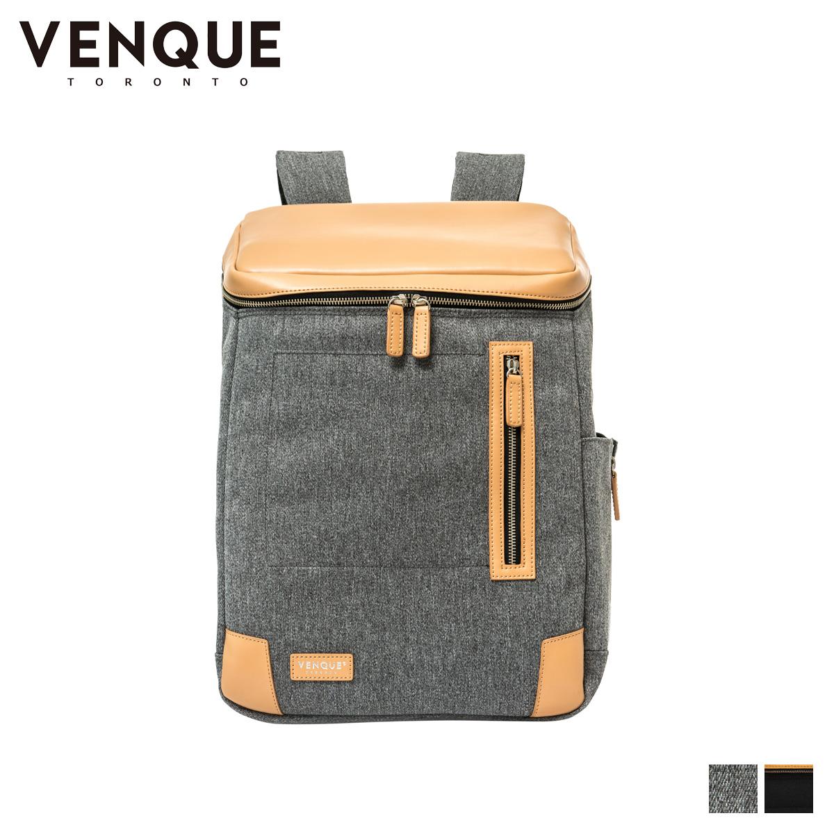ヴェンク VENQUE リュック バッグ バックパック メンズ レディース 18L AMSTERDAM ブラック グレー 黒