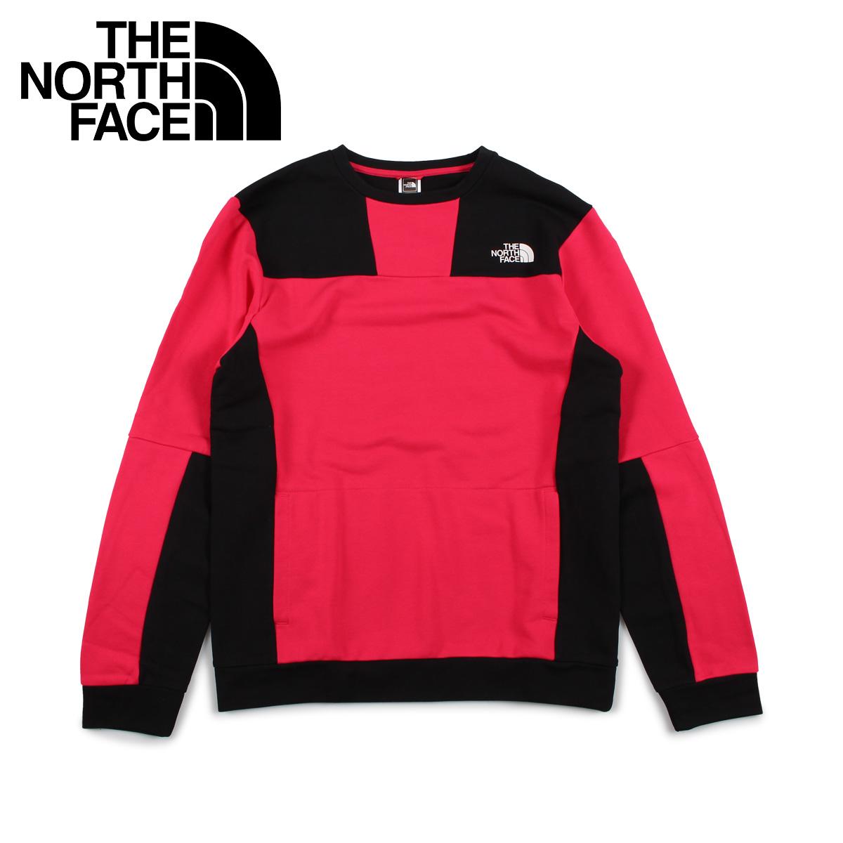 THE NORTH FACE ノースフェイス トレーナー スウェット メンズ U RAGE GRAPHIC CREW ピンク T93XXE