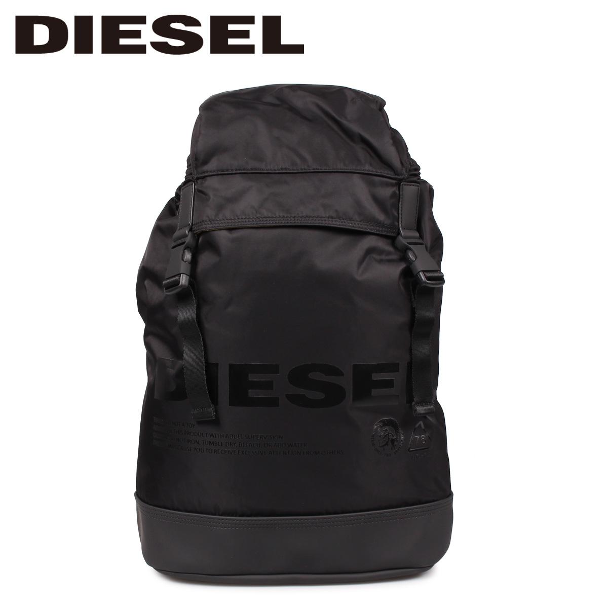 DIESEL ディーゼル バッグ リュック バックパック メンズ F-SUSE BACK ブラック 黒 X06091 P2249