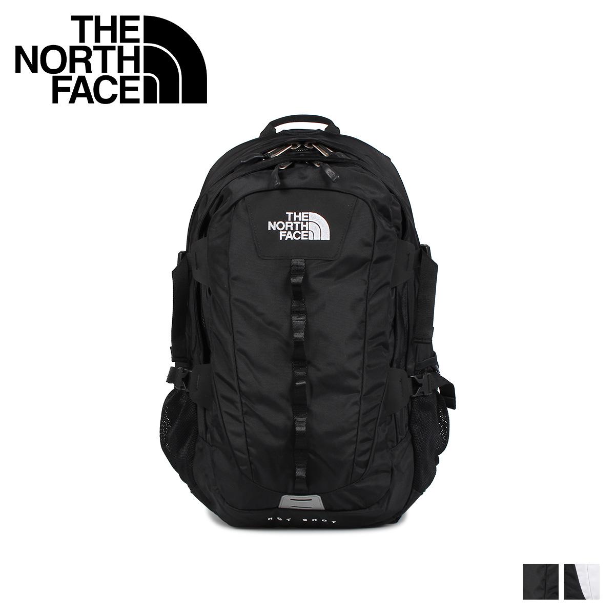 THE NORTH FACE ノースフェイス リュック バッグ バックパック ホットショット メンズ レディース 26L HOT SHOT CLASSIC ブラック ホワイト 黒 白 NM71862