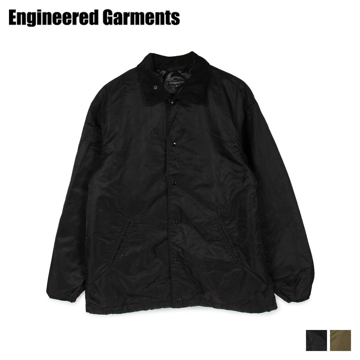 ENGINEERED GARMENTS エンジニアドガーメンツ ジャケット メンズ GROUND JACKET ブラック オリーブ 黒 19FD017