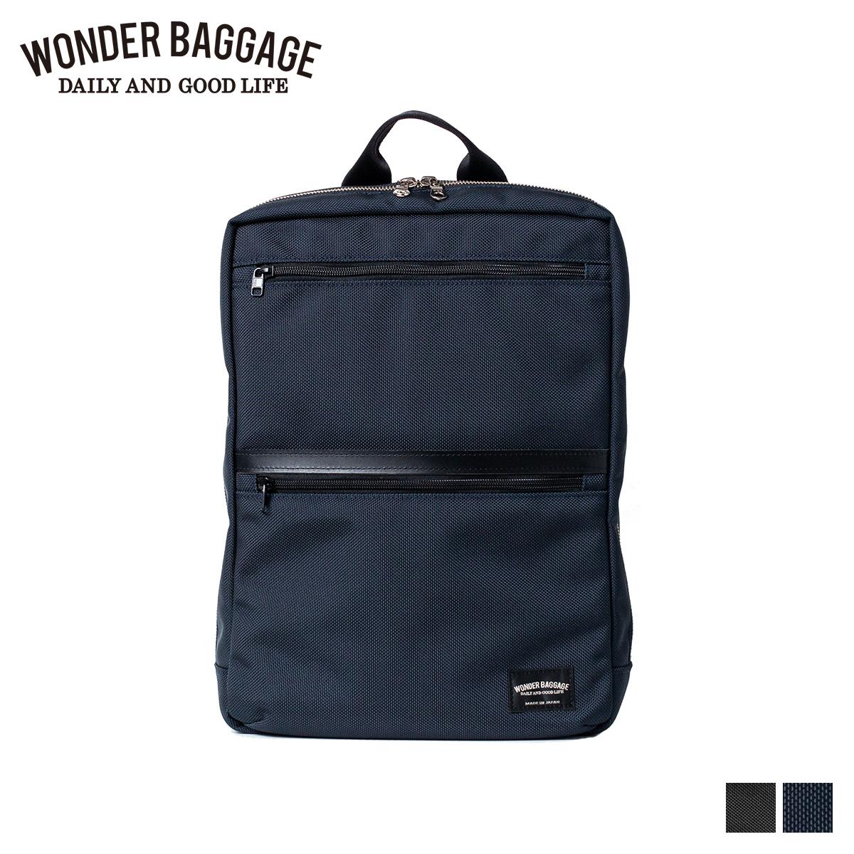 【お年玉セール特価】 WONDER BAGGAGE ワンダーバゲージ リュック バッグ バックパック メンズ レディース 9L GOODMANS SLIM SACK ブラック ネイビー 黒 WB-G-025, 靴の広場 K's Direct 27561c1f