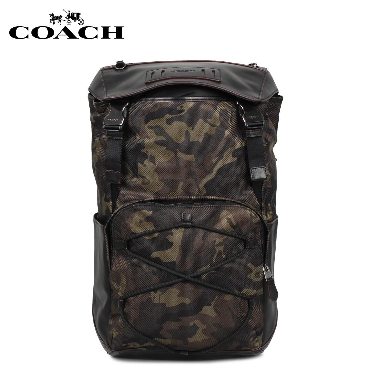COACH コーチ バッグ リュック バッグパック メンズ カモフラージュ F76786