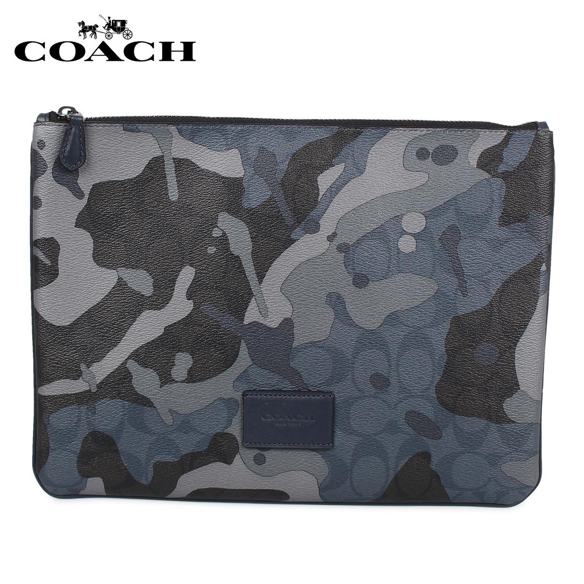 COACH コーチ タブレットケース iPadケース メンズ カモフラージュ F76950