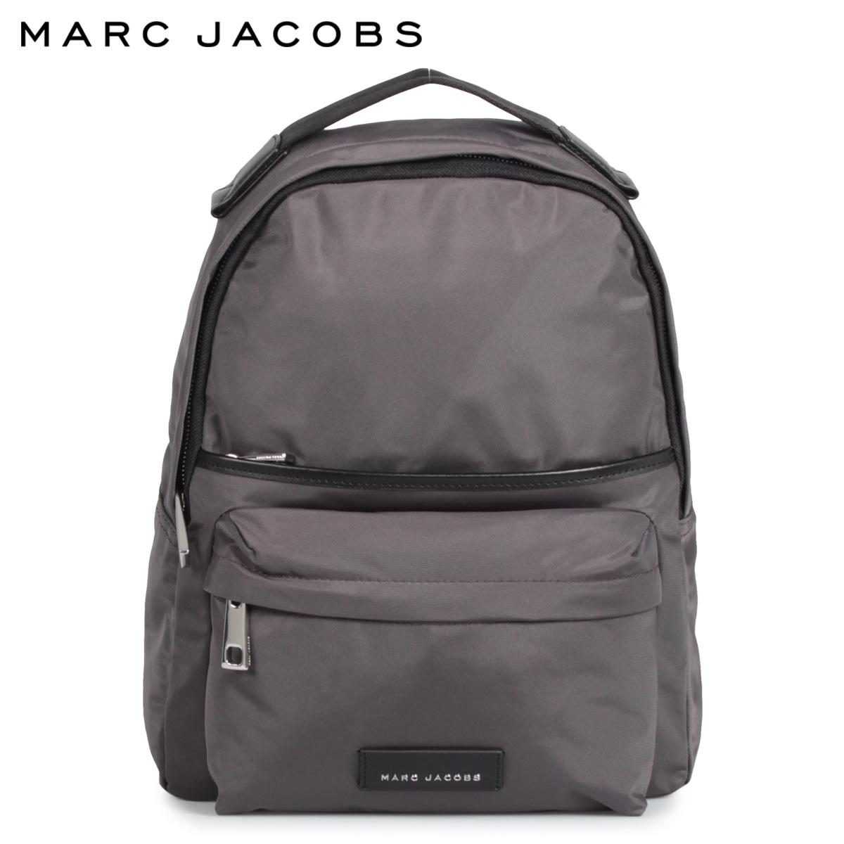 MARC JACOBS マークジェイコブス リュック バッグ バッグパック メンズ レディース LARGE NYLON BACKPACK グレー M0013946
