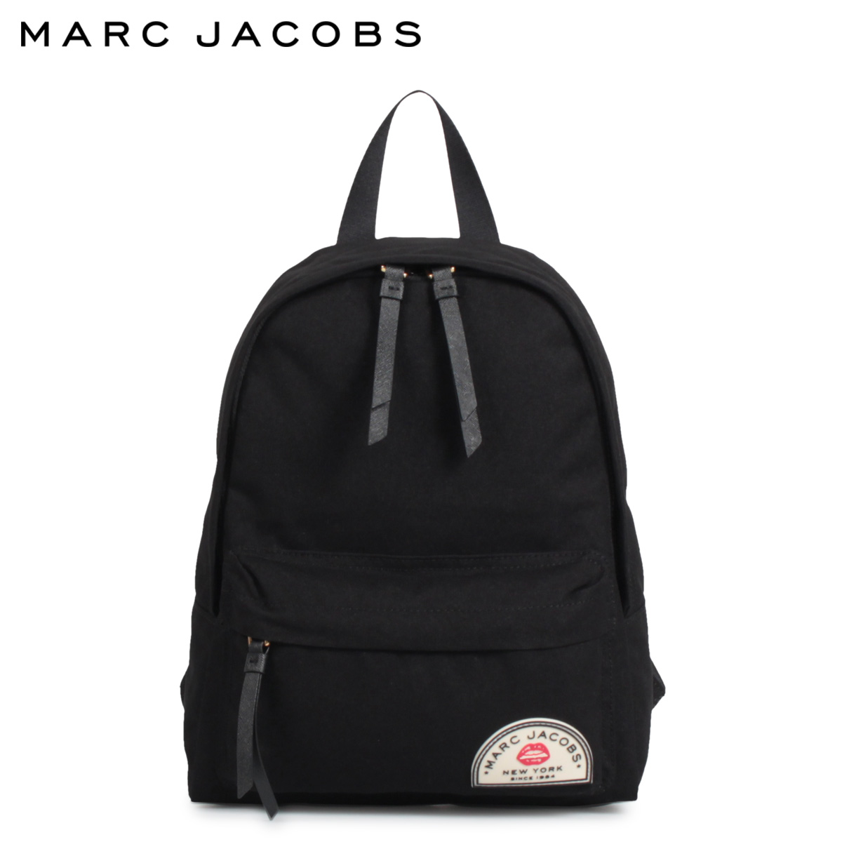 MARC JACOBS マークジェイコブス リュック バッグ バックパック メンズ レディース COLLEGIATE MEDIUM BACKPACK ブラック 黒 M0015404