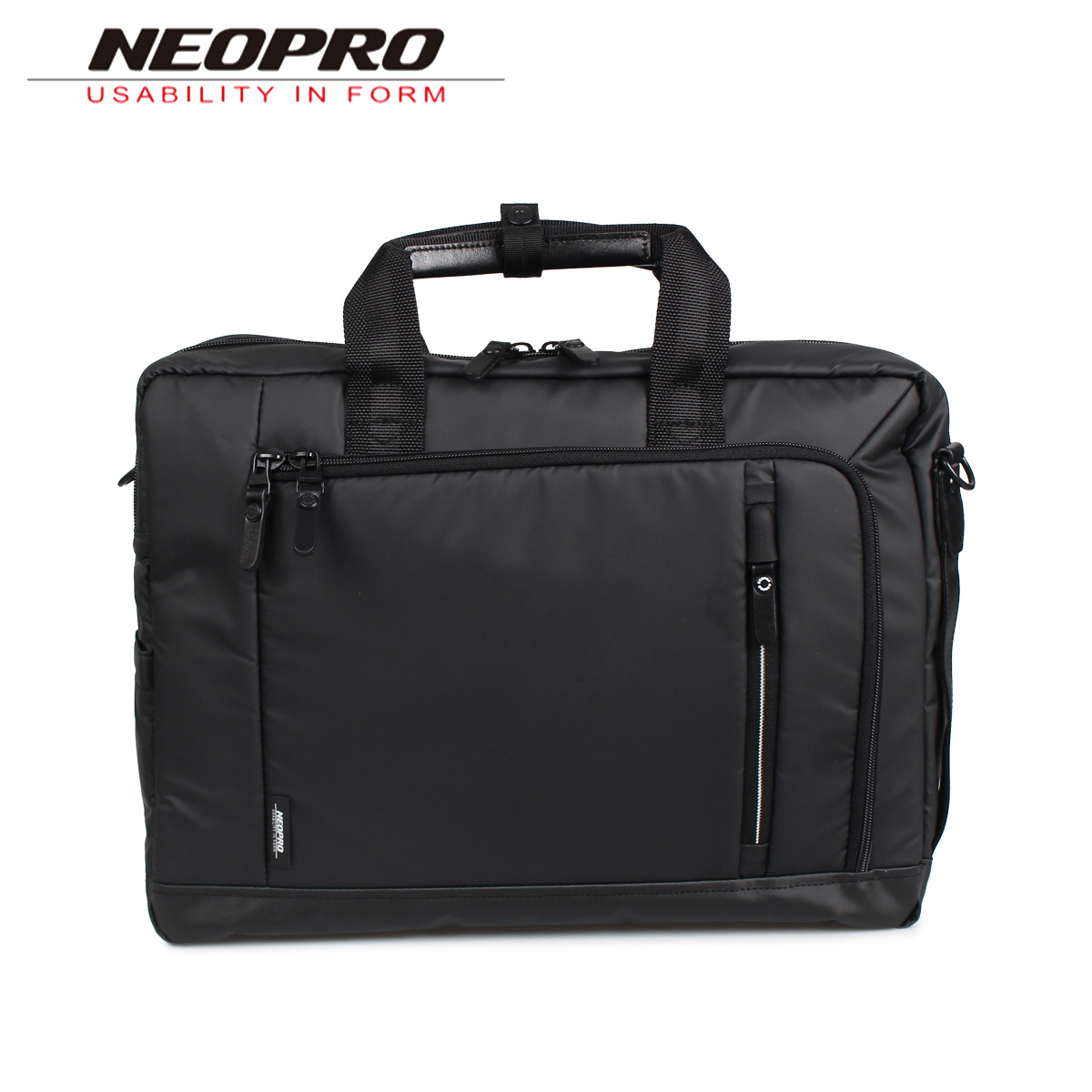 NEOPRO ネオプロ リュック バック バックパック ビジネスバッグ ショルダー メンズ 3WAY RED ブラック 黒 2-761