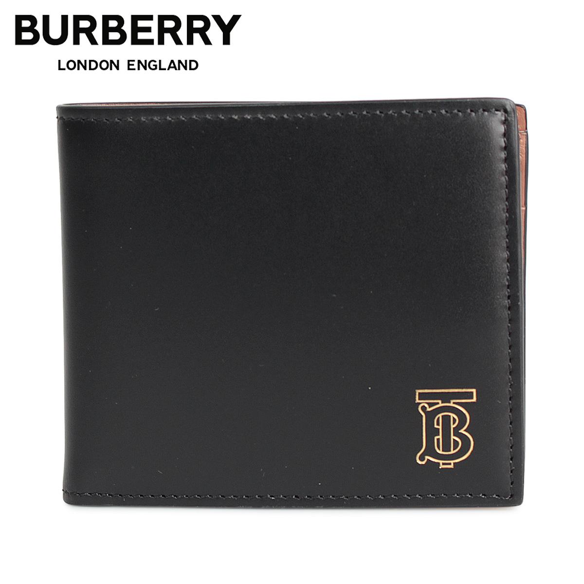 BURBERRY バーバリー 財布 二つ折り メンズ CC BILL COIN ブラック 黒 8014024