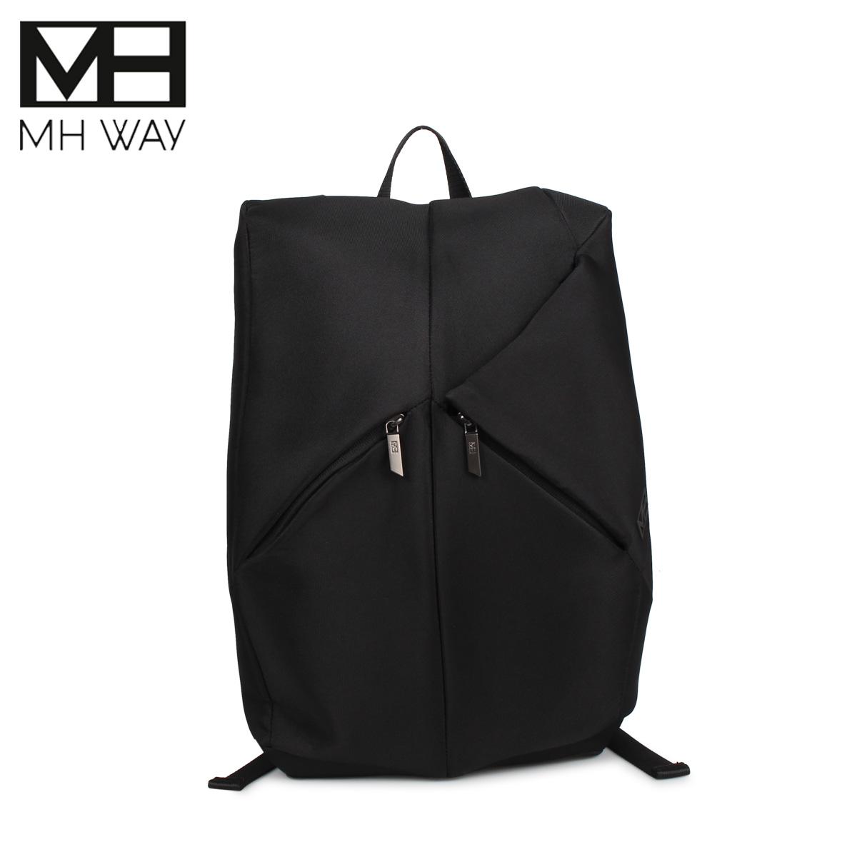 エムエイチウェイ MH WAY リュック バッグ バックパック メンズ レディース 15L STONE BACKPACK ブラック 黒 MH-013