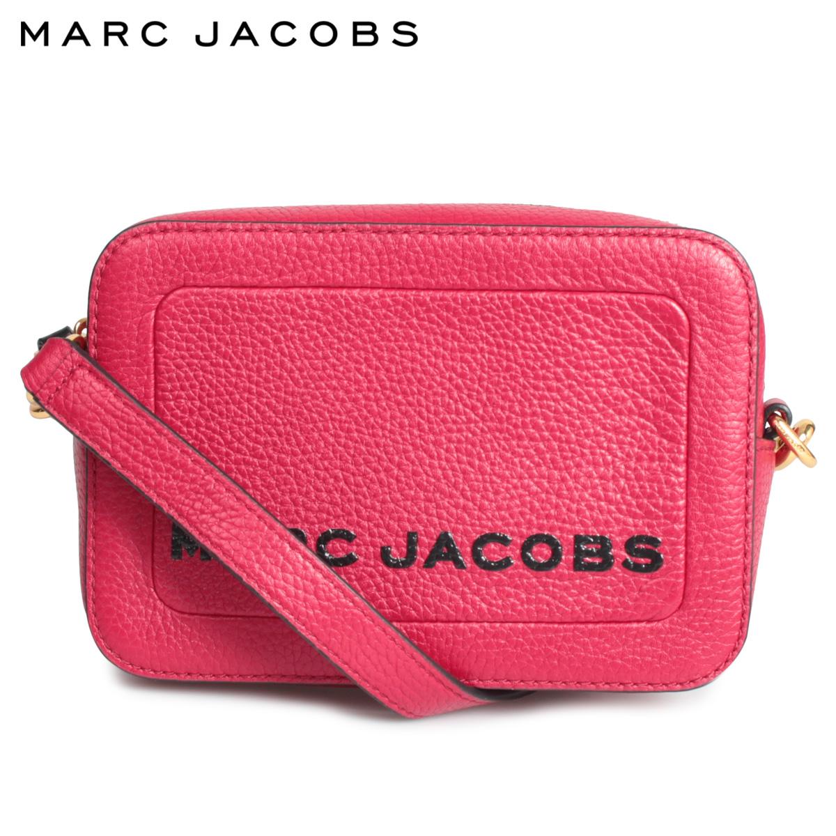MARC JACOBS マークジェイコブス バッグ ショルダーバッグ レディース THE BOX CROSSBODY ピンク M0015765