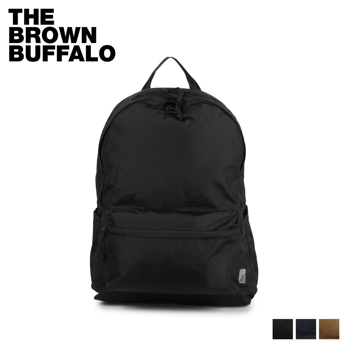 ザブラウンバッファロー THE BROWN BUFFALO リュック バックパック メンズ レディース STANDARD ISSUE BACKPACK ブラック ベージュ ネイビー 黒 F18DP420D