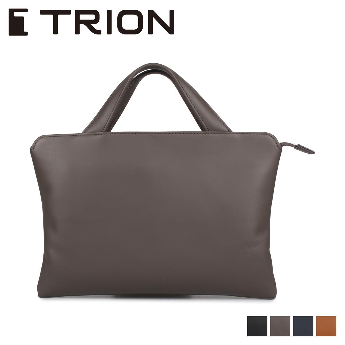 TRION トライオン バッグ ビジネスバッグ ブリーフケース メンズ DOCUMENT ブラック ダーク グレー ネイビー ダーク ブラウン 黒 SA114