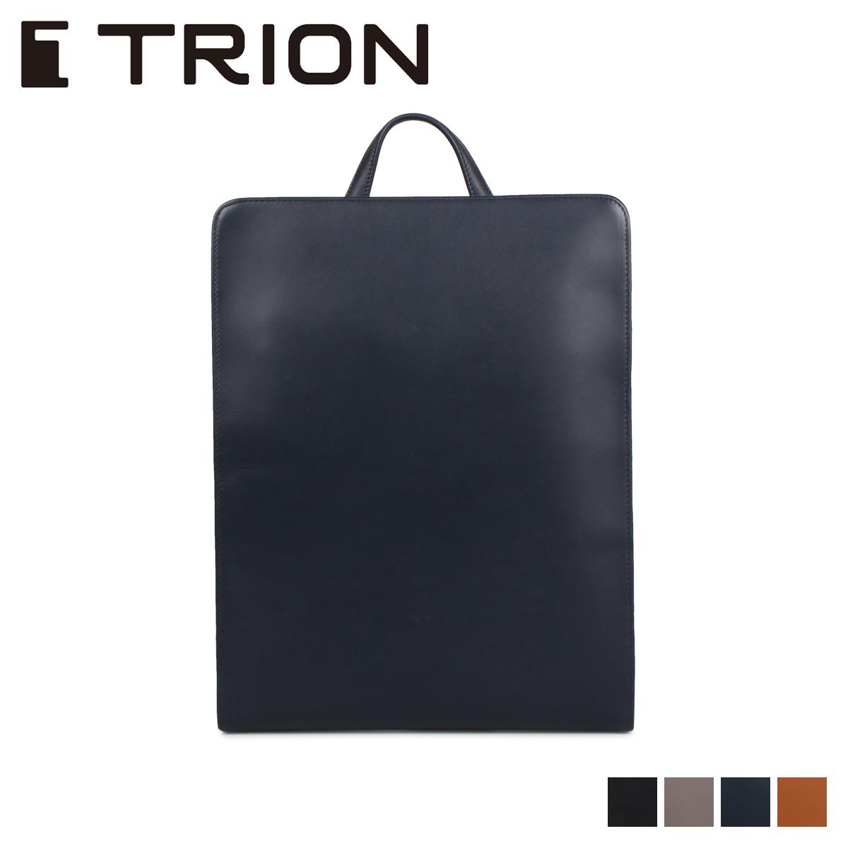 TRION トライオン リュック バッグ バックパック メンズ DOCUMENT ブラック ダーク グレー ネイビー ダーク ブラウン 黒 SA229
