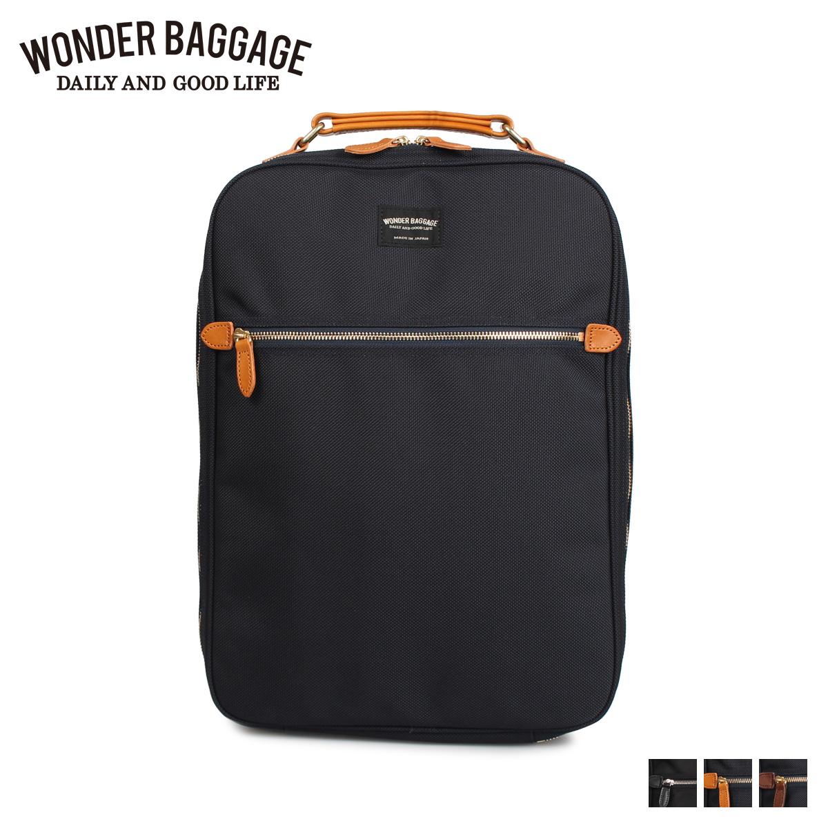 WONDER BAGGAGE ワンダーバゲージ MG ビジネスサック リュック バッグ バックパック メンズ レディース MG BUSINESS SACK ブラック ネイビー 黒 WB-G-026
