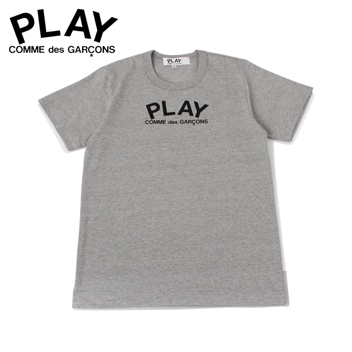 PLAY COMME des GARCONS プレイ コムデギャルソン Tシャツ 半袖 レディース PLAY グレー T0710511