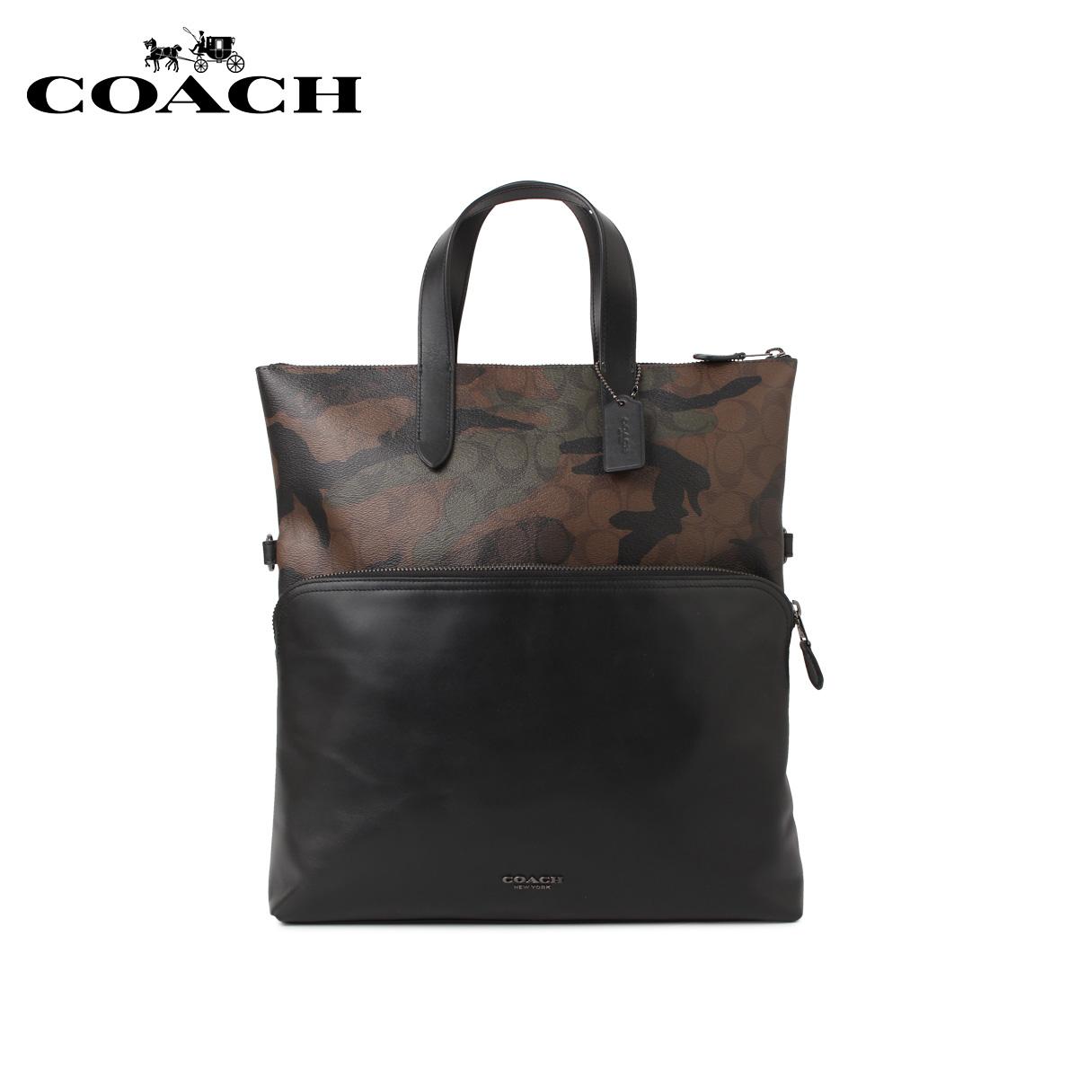 COACH コーチ バッグ トートバッグ メンズ カモ 迷彩 F72527