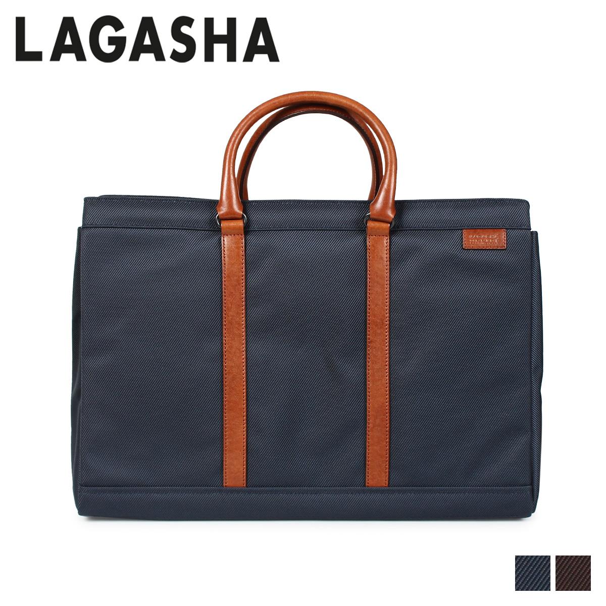 LAGASHA ラガシャ ムーヴ バッグ ビジネスバッグ ブリーフケース メンズ MOVE ネイビー ブラウン 7145
