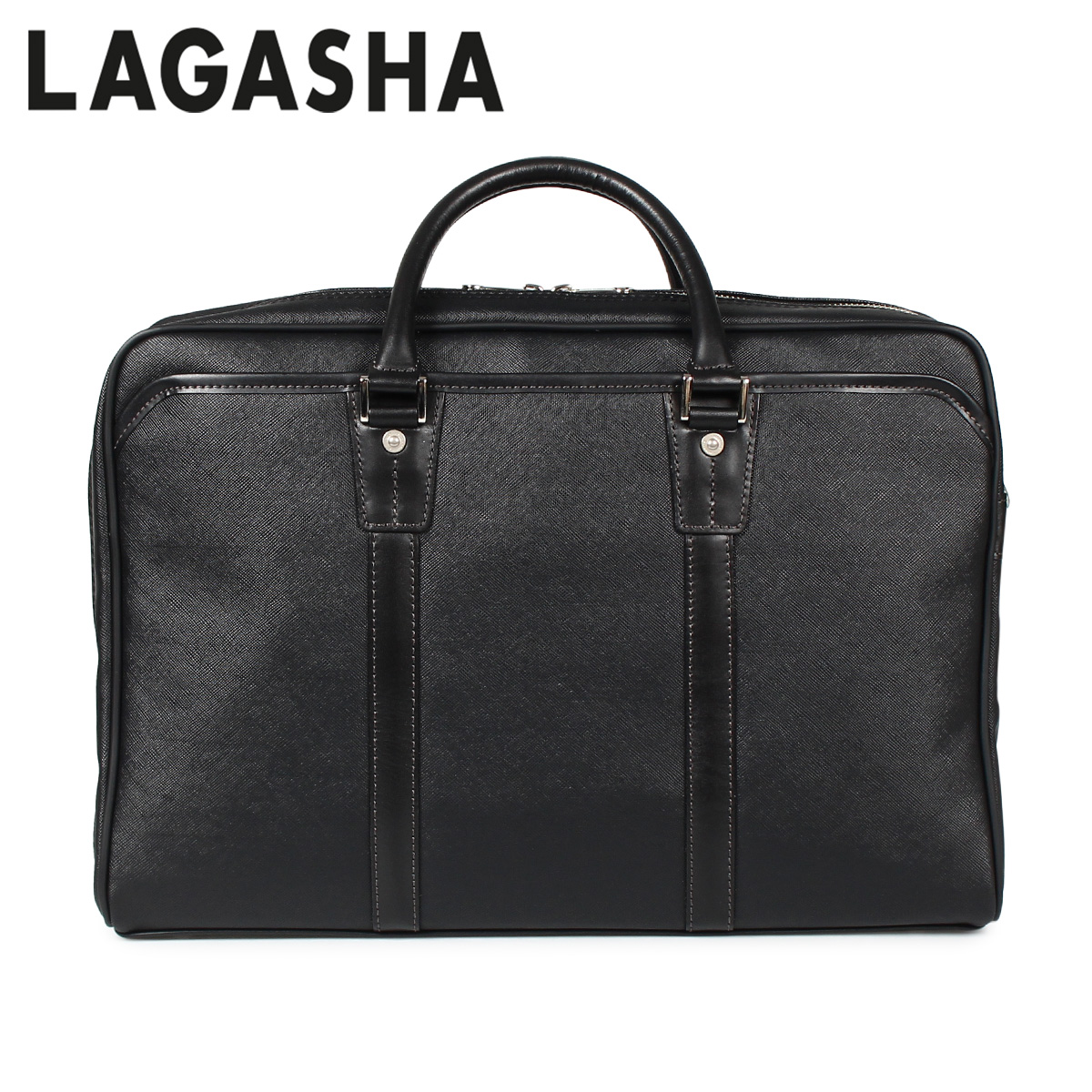 LAGASHA ラガシャ クアドロ バッグ ビジネスバッグ ブリーフケース メンズ QUADRO ブラック 黒 7715