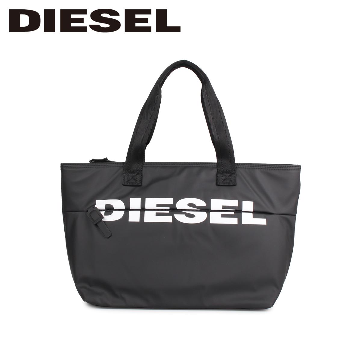 DIESEL ディーゼル バッグ トートバッグ レディース BOLDMESSAGE ブラック 黒 X06248-P1705