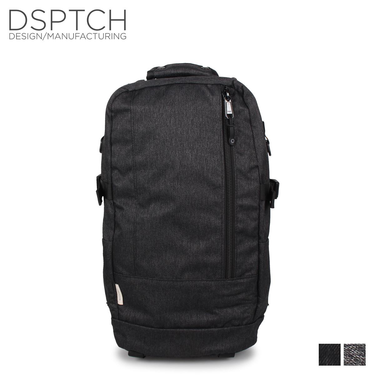 ディスパッチ DSPTCH バッグ リュック バックパック メンズ レディース DAYPACK グレー チャコールグレー PCK-DP-GST