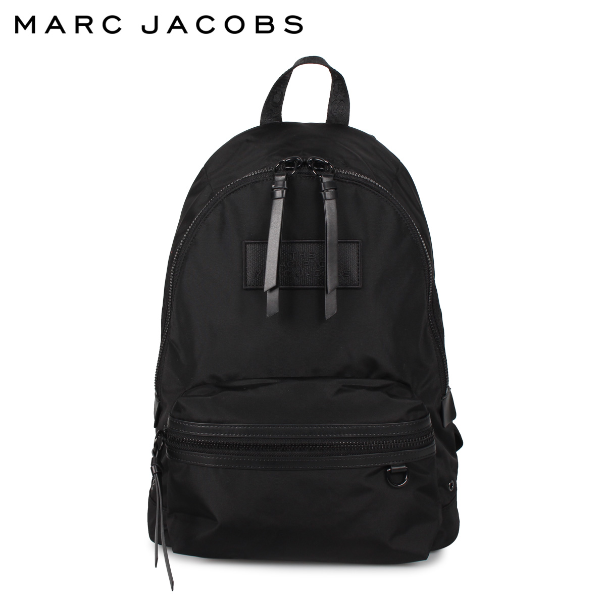 MARC JACOBS マークジェイコブス リュック バッグ バックパック レディース THE DTM BACKPACK LARGE BACKPACK ブラック 黒 M0015772-001 [4/10 再入荷]