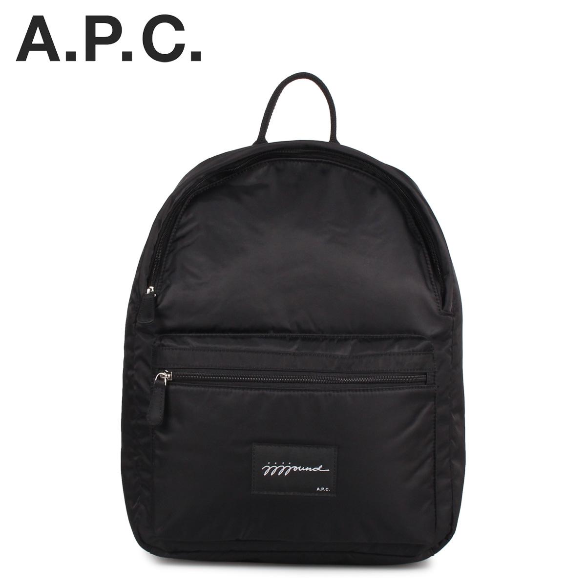 アーペーセー ジョウンド A.P.C. JJJJound リュック バッグ バックパック メンズ レディース コラボ SAC A DOS JJJJOUND ブラック 黒 PAACL-H62123