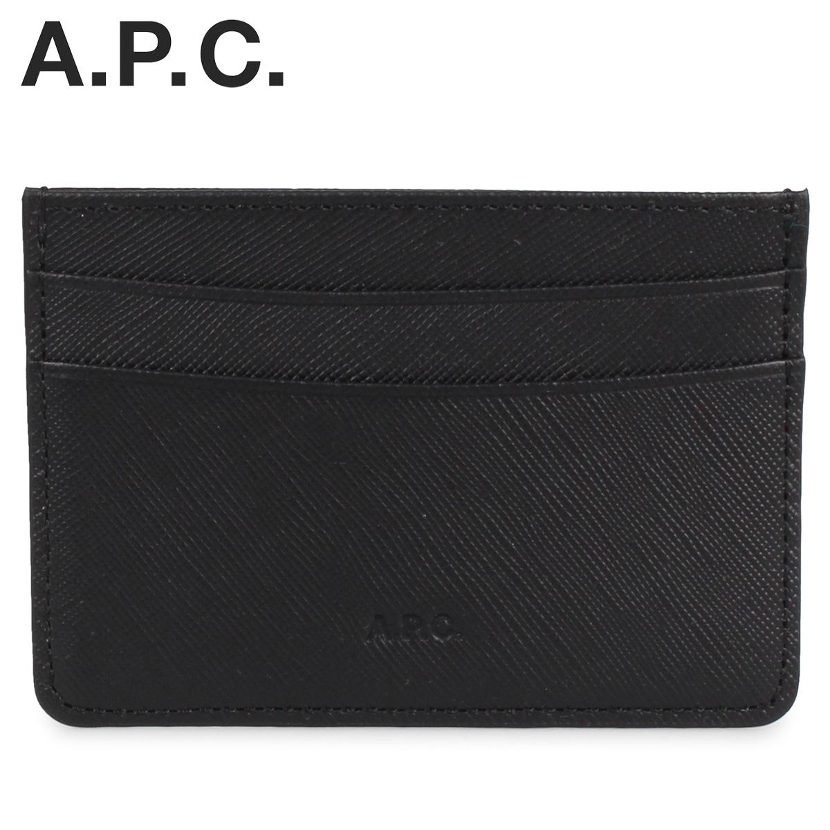 アーペーセー A.P.C. パスケース カードケース ID 定期入れ メンズ ANDRE CARD HOLDER ブラック 黒 PXBJQ-H63028