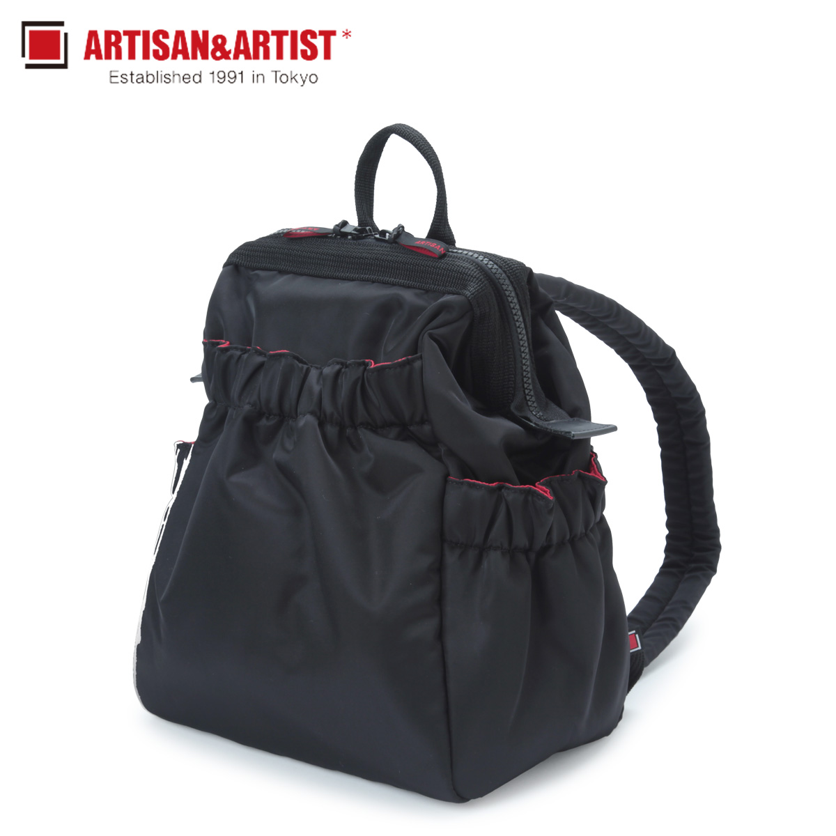 ARTISAN&ARTIST アルティザン&アーティスト リュック バッグ バックパック レディース CLASP STANDARD ブラック 黒 KG2-604