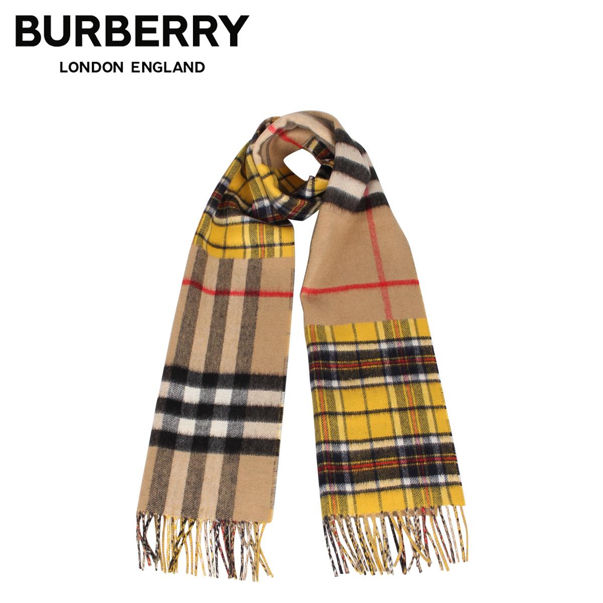 BURBERRY バーバリー マフラー スカーフ メンズ レディース チェック カシミア MUFFLER ブラウン 8022484