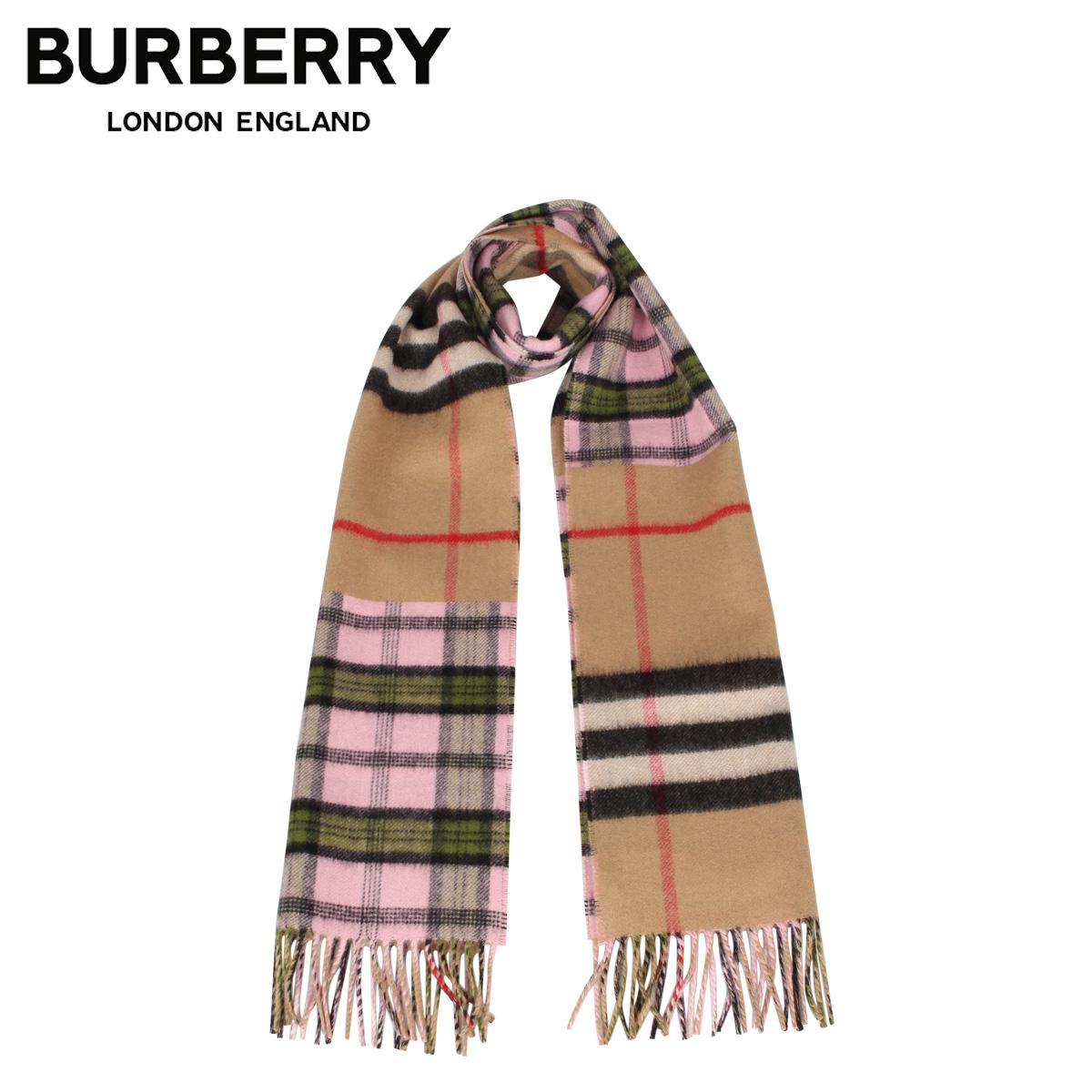 BURBERRY バーバリー マフラー スカーフ メンズ レディース チェック カシミア MUFFLER ブラウン 8022485