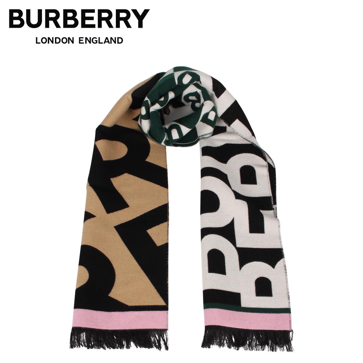 BURBERRY バーバリー マフラー スカーフ メンズ レディース ウール シルク MUFFLER マルチカラー 8023070