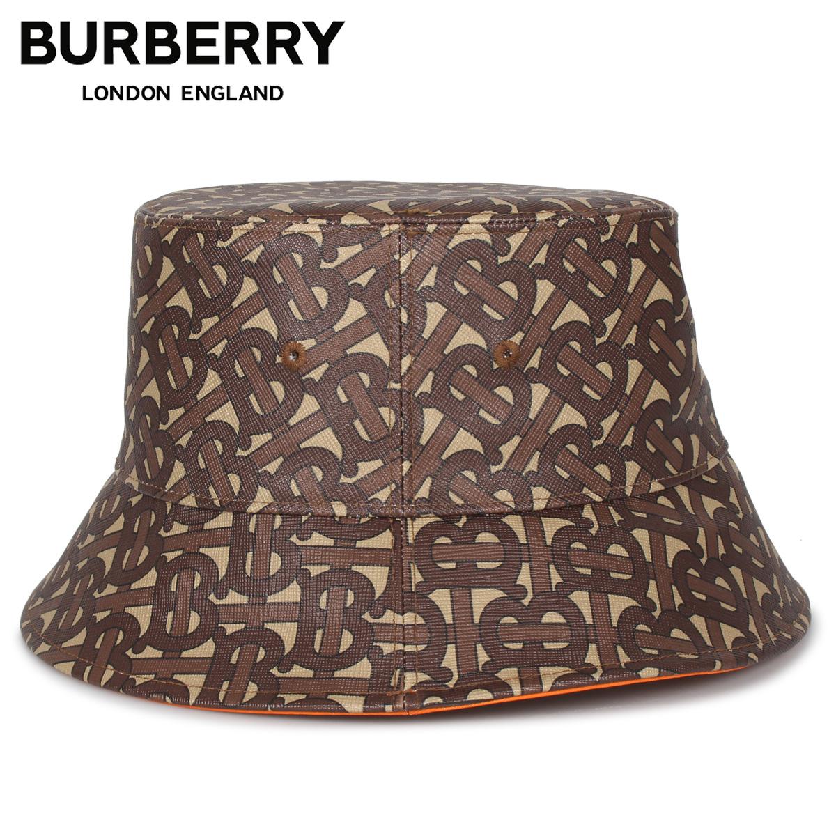 BURBERRY バーバリー ハット キャップ 帽子 バケットハット メンズ レディース BUCKET HAT ブラウン 8023808