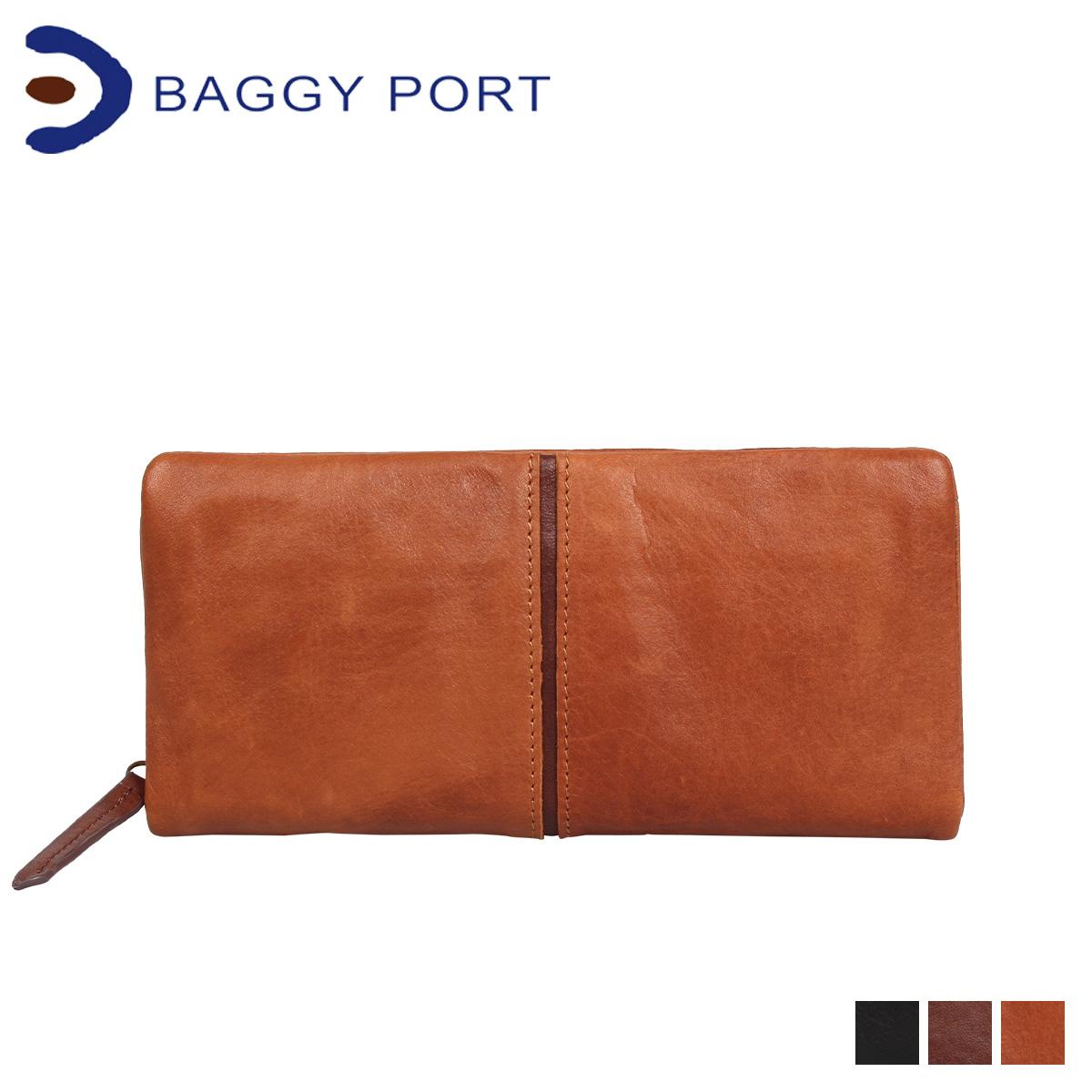 BAGGY PORT バギーポート 財布 長財布 メンズ レディース FULLCHROME ブラック キャメル ブラウン 黒 HRD400