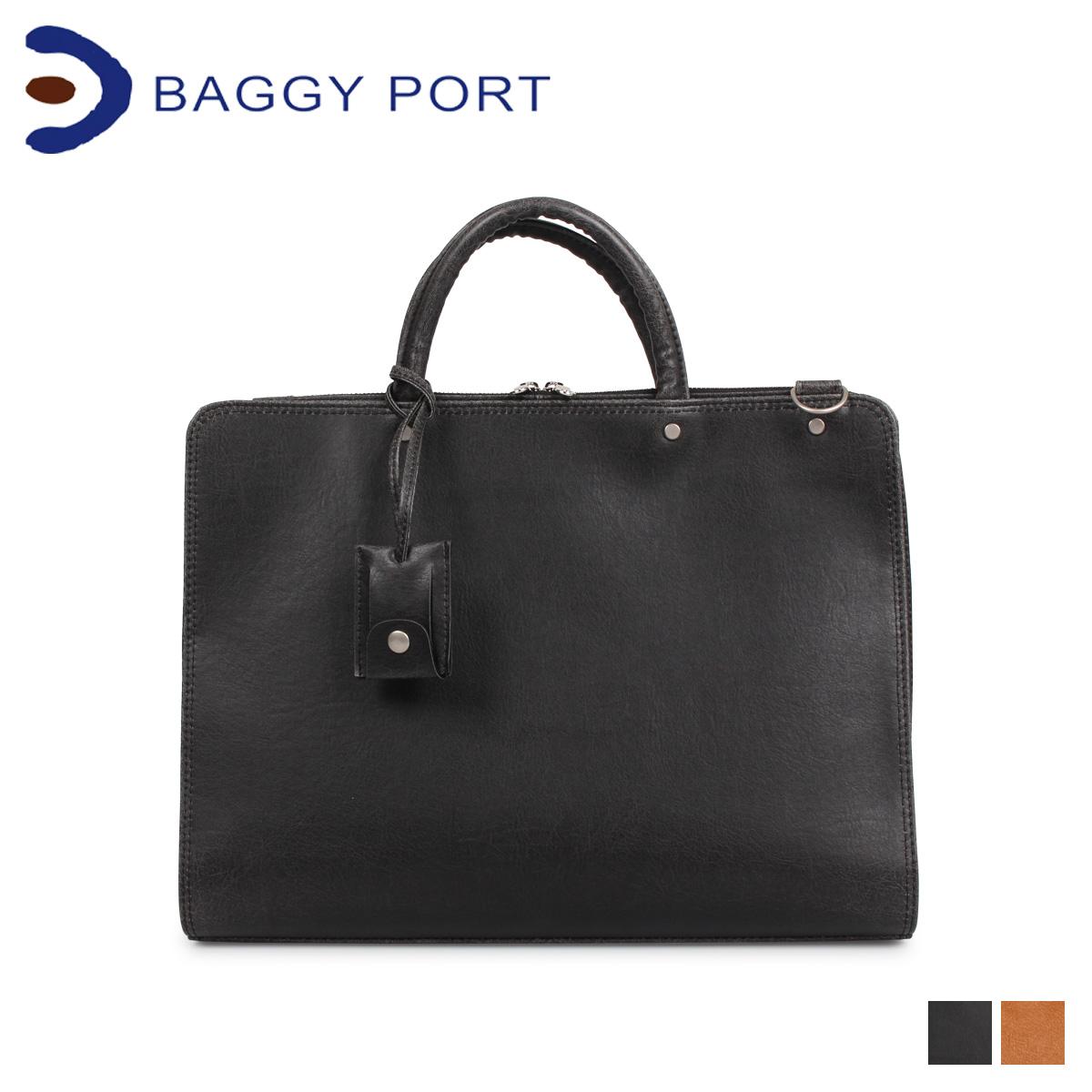 BAGGY PORT バギーポート バッグ ビジネスバッグ ブリーフケース メンズ BRIEFCASE ブラック キャメル 黒 JOB260