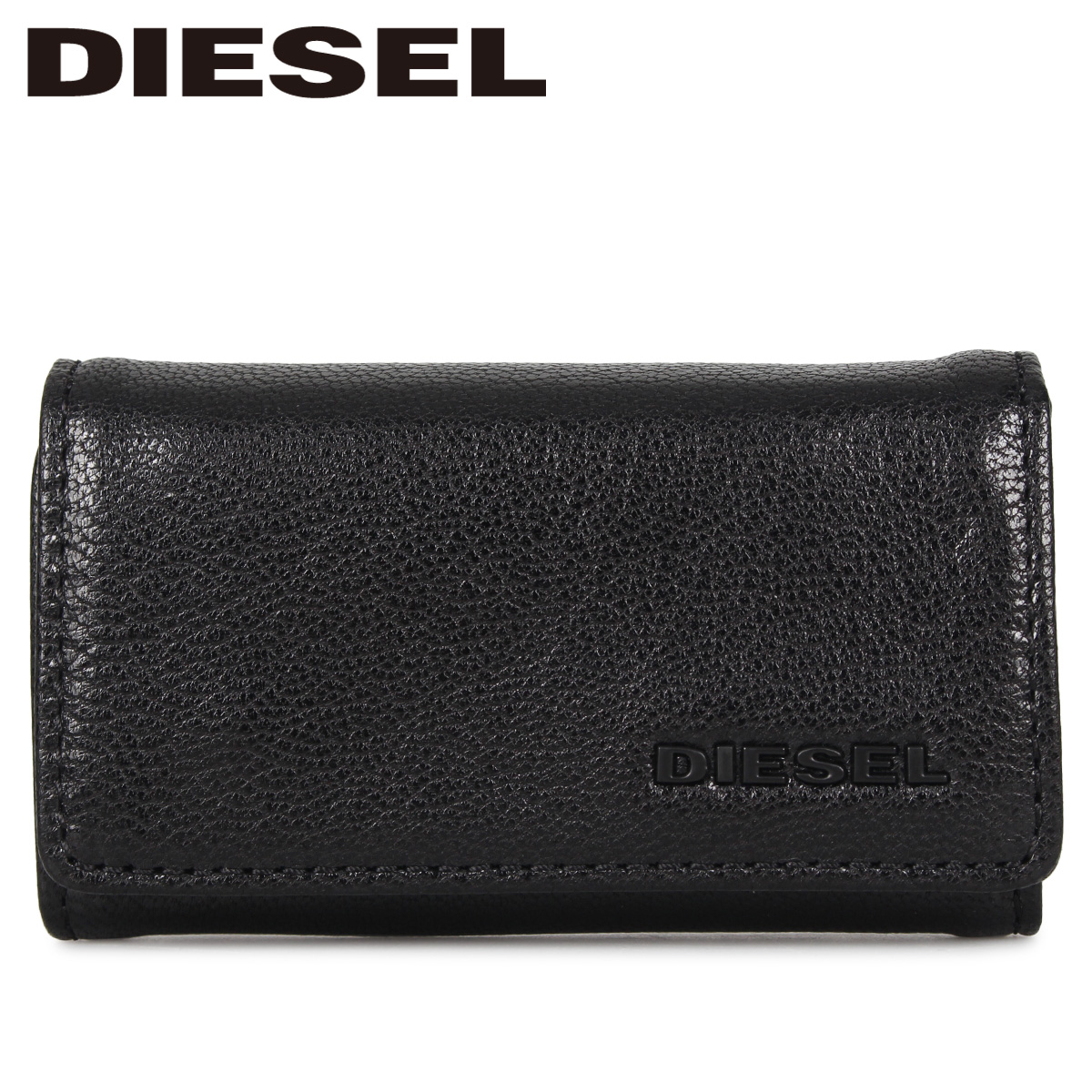 DIESEL ディーゼル キーケース キーホルダー メンズ KEYCASE II ブラック 黒 X06640-P3043
