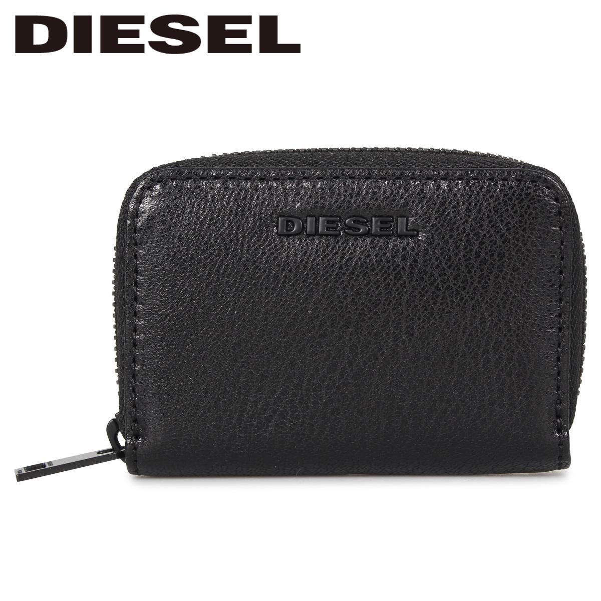 DIESEL ディーゼル コインケース 小銭入れ メンズ JAPAROUND ブラック 黒 X06642-P3043