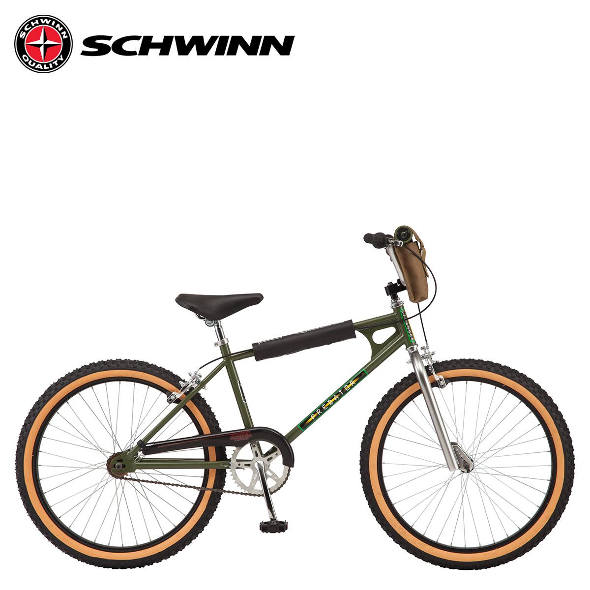 シュウィン SCHWINN ストレンジャー シングス ルーカス BMX 自転車 24インチ ストリート フリースタイル STRANGER THINGS MAX グリーン S3042WMDS