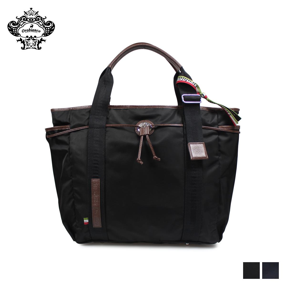 Orobianco オロビアンコ バッグ トートバッグ ビジネスバッグ メンズ ARINNA-C 01 ブラック ネイビー 黒 92151