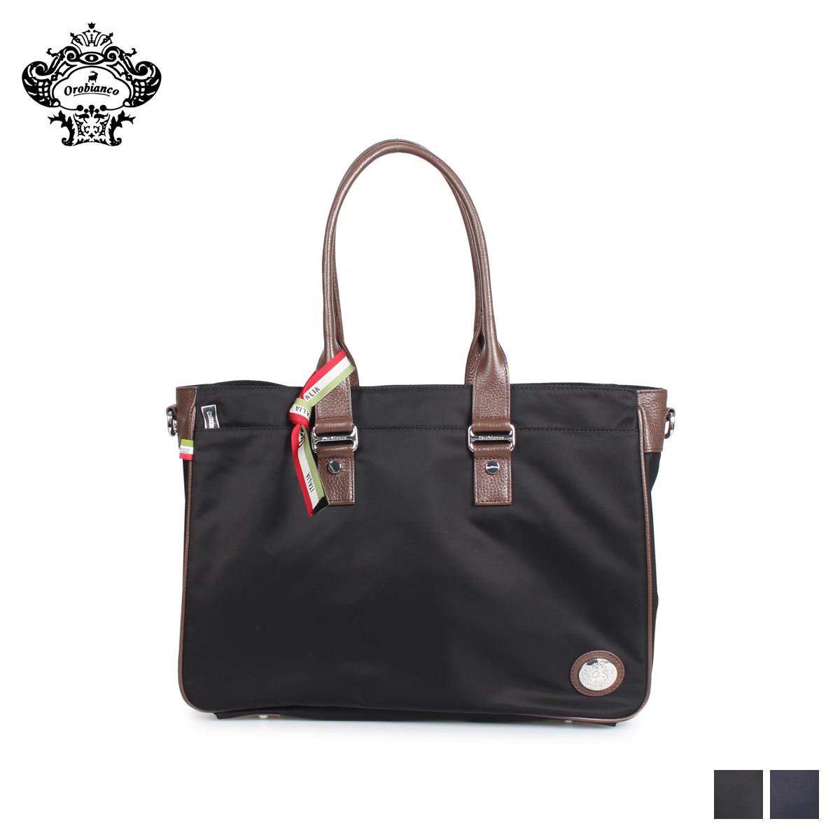 Orobianco オロビアンコ バッグ ショルダーバッグ ビジネスバッグ メンズ STABILE-C 01 ブラック ネイビー 黒 92157