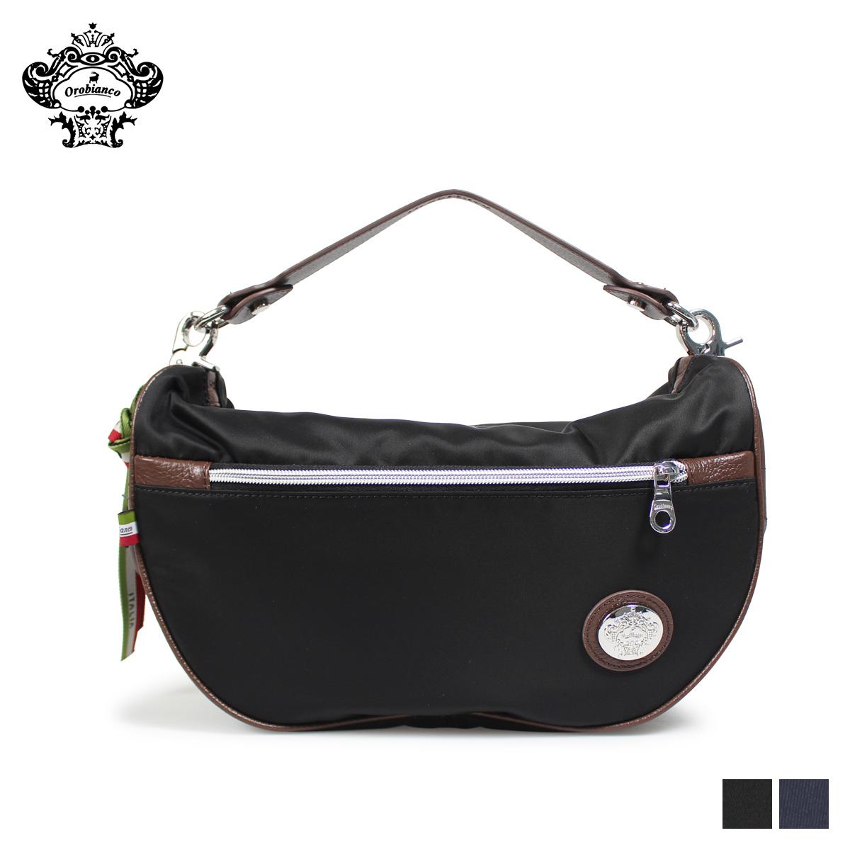 Orobianco オロビアンコ バッグ ショルダーバッグ メンズ TRUCCO-C 04 ブラック ネイビー 黒 92174